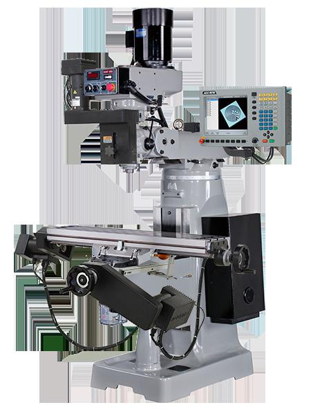 Buy KTM-3VSF CNC w/ MillPwr CNC Knee Mills, Milling Machines